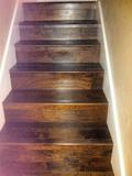 Staircase of Engineered Wood